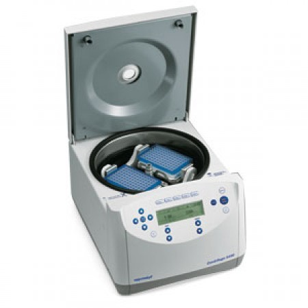 Eppendorf 5430 microcentrifuge, 30-place rotor
