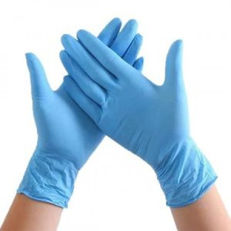 Glove - Nitrile Large Size, (100 per Box - 10 box/Case)  Case of 1000