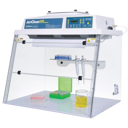 32 ISO 5 Combination PCR workstation with UVTect microprocessor controller. 110V AC