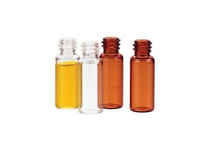 Amber Glass vials with Caps, 12 mL -  200/Pack