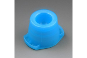Tube Stoppers - Universal Cap, Blue, Fits most 12mm, 13mm, and 16mm tubes, Bag of 1000