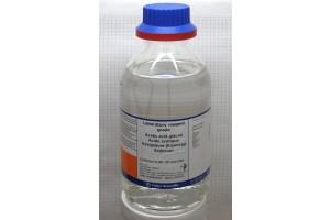 Bottle - Acetic Acid, Glacial, HPLC Grade, 500 mL Glass Bottle, (Hazardous Material)
