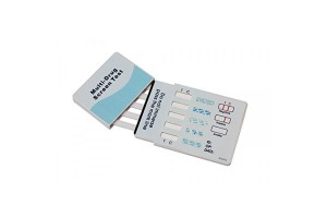 5-Panel CLIA DIP Card for (COC, AMP, mAMP, THC, OPI) (CLIA Waived)
