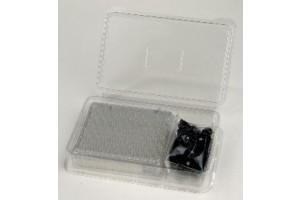 VWR 4 mL Screw-Thread Vials 15x45 mm Amber - Case of 1000