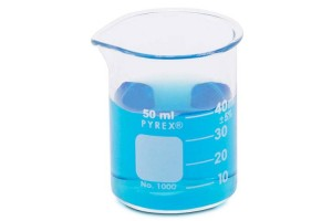 PYREX Griffin Beakers, 50mL - Pack of 12