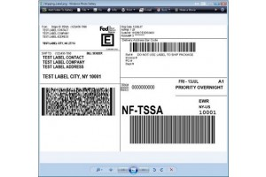 FedEx Overnight Priority Label, Pack of 50