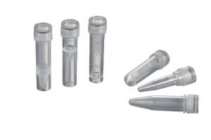 VWR SuperClear Screw Cap Microcentrifuge Tubes with Caps, 2 mL, Nonsterile, Freestanding - Pack of 500