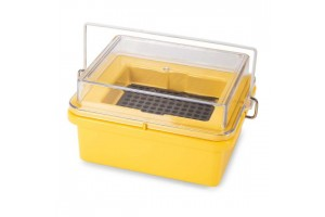 Mini Cooler, -20° C, 96-Place (8x12) for 0.2mL PCR Tubes, Yellow