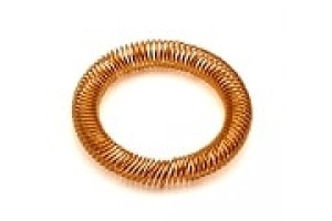 Canted coil spring for Agilent