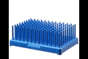 Thermo Scientific™ Nalgene™ Polypropylene-Filled Test Tube Peg Racks, for 10-13mm tubes Pack of 2