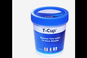 T-CUP 12-Panel Drug Screen (AMP, BAR, BZO, COC, mAMP, MDMA, MOP, MTD, OXY, PCP, TCA, THC) (CLIA waived); Box of 25