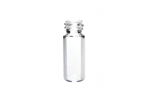 Thermo Scientific 10mm Clear Glass Wide Opening Screw Thread Vials, 450µL, 10-425 Screw Thread MacroVial 350µL, Fused Insert - Pack of 100