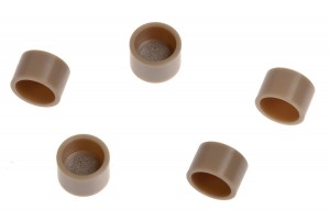 Replacement Cap Frit Filters for Trident Guard Cartridges, Case of 5