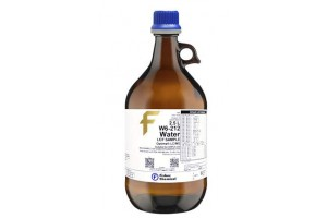 Fisher Chemical WaterOptima, LC/MS. Formulated for UHPLC-UV, 4L Glass Bottles