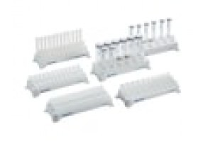 Eppendorf Tube Rack, 12 positions, for 5.0 mL and 15 mL tubes, polypropylene, numbered positions, autoclavable, 2 pcs.