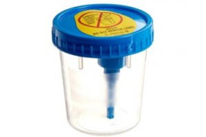 BD Vacutainer™ Urine Collection Cup with integrated sampling device, Sterile, 120mL  Case of 200