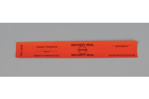 """Tamper Evident Red Security Seals, (1"""" x 6.625) - Pack of 500"""