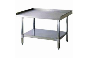 """Equipment Stand 48""""Wx30""""Dx24""""H stainless steel"""