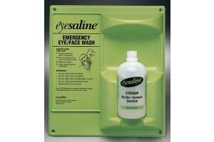 Fendall Saline Double Eyewash Wall Stations, 32 oz