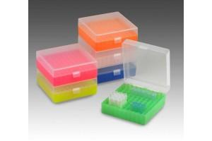 Microtube Storage Box, Natural, 100x1.5mL tubes or 100x2mL tubes