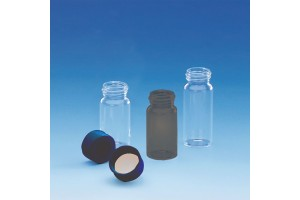 20 ml Sample vials with caps - Case of 72