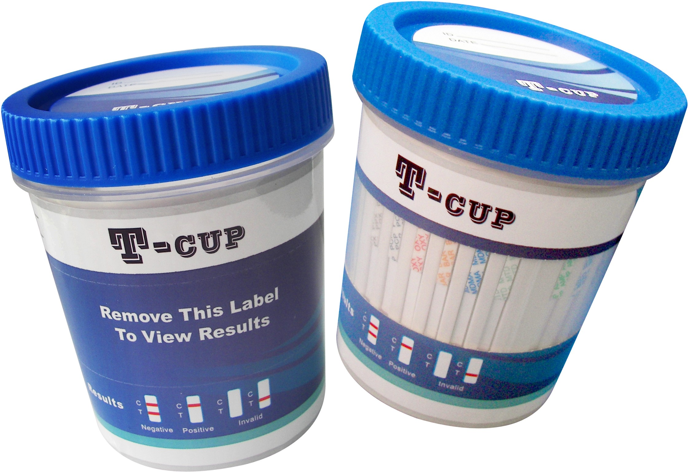 T-Cup 14 Panel Drug Screen (AMP, BAR, BUP, BZO, COC, mAMP, MDMA, MTD, OPI, OXY, PCP, PPX, TCA, THC) + 3 Adulterants